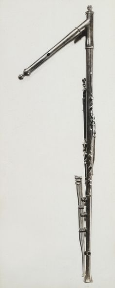 Bass Flute in C (Burghley, 1845)