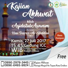 Kajian Akhwat Cirebon, 27 Juli 2017