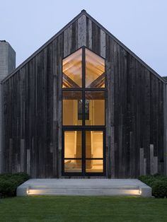 A beautifully renovated barn house