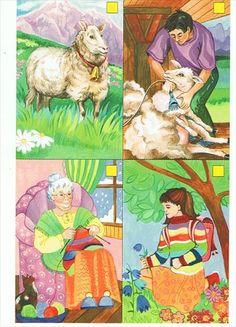 Użyj STRZAŁEK na KLAWIATURZE do przełączania zdjeć Sequencing Pictures, Story Sequencing, Sequencing Activities, Toddler Learning Activities, Book Activities, Teaching Kids, Play School Toys, Cow Craft, Picture Composition