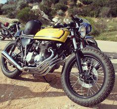 OVERBOLD MOTOR CO. — Honda CB 400 Cafe Racer   #honda #cb400 #caferacer...