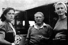 * Lee Miller Pablo Picasso et Dora Maar 1937