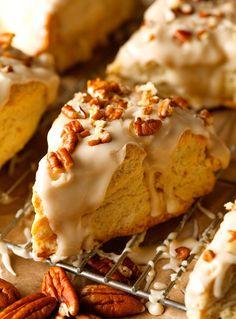 Maple Nut Scones