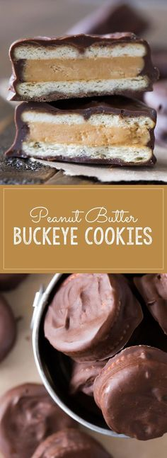 If you love peanut butter and chocolate, these cookies are going to make you so very happy!