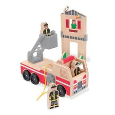 Whittle World - Fire Rescue Set by Melissa and Doug | eBeanstalk