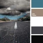 black, color combinations, color matching, color of asphalt, color solution for design, Cyan Color Palettes, dark gray, gray