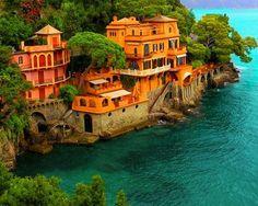 The Sea off Portofino Italy