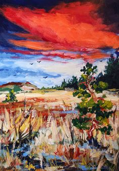 Red cloud by Mishelangello on DeviantArt Red Cloud, Acrylic Colors, Acrylic Paintings, Clouds, Deviantart, Cloud