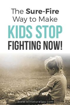 How to stop kids from fighting. Help kids learn how to get along. Discipline for kids, how to have a peaceful home, parenting, sibling fighting, motherhood.