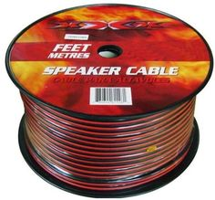 XXX Speaker Cable 1000FT by XXX. $50.89