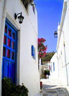 Paros Island..