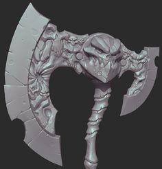Michael Vicente: darksiders axe