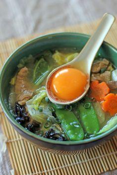 Hototay aka Filipino-Chinese Egg Drop Soup