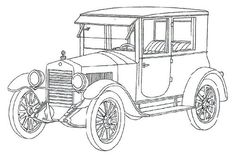 Car Coloring Book for Adults Unique Vintage Cars 21 Adult Coloring Pages Truck Coloring Pages, Free Adult Coloring Pages, Animal Coloring Pages, Colouring Pages, Coloring Books, Vintage Cars, Antique Cars, Unique Vintage, Car Colors