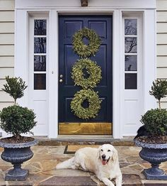 SEASONAL – CHRISTMAS – during the holiday season, new englanders take time to trim the outdoors in creative ways with beautiful holiday decor with charm to spare.