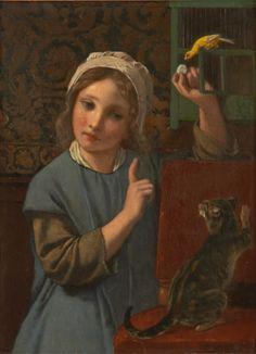 Charles Michel Verlat (1824-1890) - Le dilemme