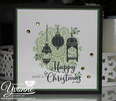 Moroccan Nights Stamp Set #stampinup Christmas Card