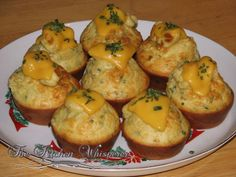 Savory Breakfast Muffins3
