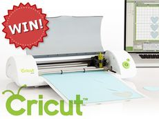 Win a Cricut Mini from Cut Out and Keep. Click through to enter!