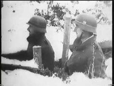После тяжелых боев Красная армия покинула Можайский УР  1941год. Трофейн...