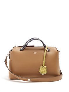 Click here to buy Fendi By The Way leather and snakeskin bag at  MATCHESFASHION.COM de683a00b5a9b