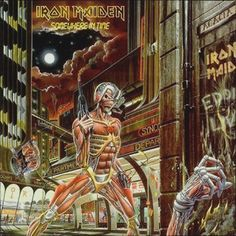 NEW SEALED VINYL RECORD 12 inch 33 rpm vinyl picture LP, deluxe gatefold jacket Universal Music, 2012 - originally released in 1986 Side 1: Caught Somewhere In Time Wasted Years Sea Of Madness Heaven