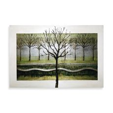 """like the picture in the first place, but if I use the sower curtain with white outlines, is good contrast. or could put in our bedroom - reminds me of my """"solitude"""" poster, 24"""" x 36"""" $50"""