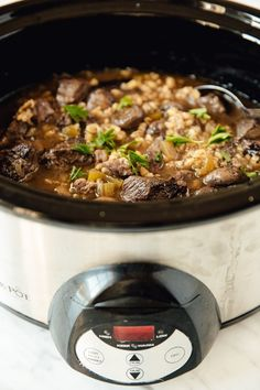 Recipe: Slow-Cooker Beef and Barley Stew