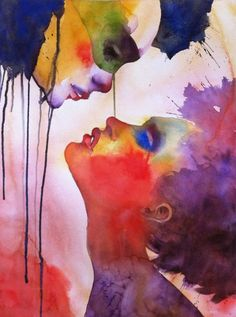 Watercolor Paintings by Alessandro Andreuccetti