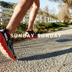One of the best thing about weekends? Long runs, and Sunday Runday. #runchat #RunningWarehouse