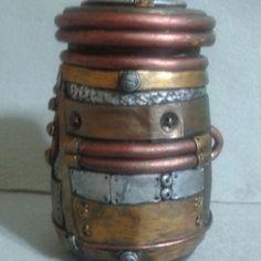 polymer clay steampunk tin - Google Search