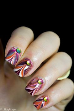 http://www.blingfinger.net/2014/11/fall-colored-water-marble.html