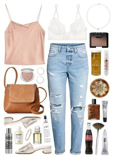 """""""Zadehya"""" by sophiehackett ❤ liked on Polyvore featuring Trish McEvoy, Street Level, NARS Cosmetics, Urban Decay, Bee Raw Honey, Maryam Nassir Zadeh, Cowshed, MILK MAKEUP, philosophy and Alice + Olivia"""