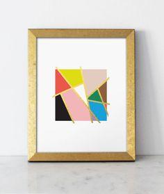 Mondrian Love Print Lulu & Georgia