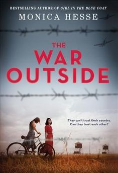 Two Japanese American and German American teens become friends while held in a WWII internment camp. FIC HESSE #book #fiction #ya #historical