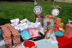 Circus- 1st Birthday Party Favorite Circus Food
