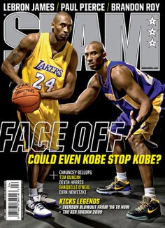 SLAM 126: Los Angeles Laker Kobe Bryant appeared on the cover of the 126th issue of SLAM Magazine (2009).