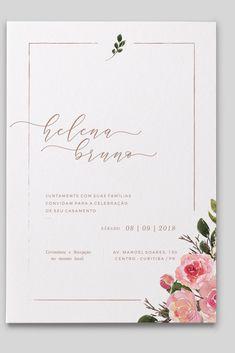 Mariella 3 Wedding Invitation Sets, Printable Wedding Invitations or Printed Wedding Invitation Sets, Dusty Blue Envelopes, Grey Envelopes