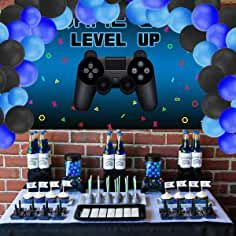 Video Game Cakes, Video Game Party, Party Games, Birthday Party For Teens, Birthday Games, Birthday Party Decorations, 11th Birthday, Playstation, Deco Gamer