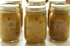 Mustard Pickle Recipe - just like my grandma use to make!  Can't wait to see if it taste just like her's.
