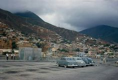 Antigua rampa del puerto de La Guaira. Circa 1960.