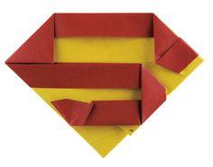 Make your own Superman S Shield! #DCSuperHeroesOrigami #Batmanday