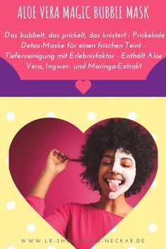 Aloe Vera, Detox Maske, Age, Bubbles, Wellness, Beauty, Organic Beauty, Masks, Cleaning