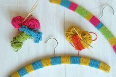 kleiderbügel umstricken was eigenes DIY Blog 3