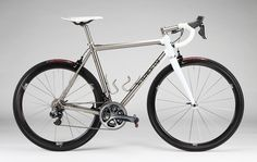 The Urban Cyclist Titanium Road Bike, Paint Bike, Stainless Steel Tubing, Road Bikes, Custom Paint, Cycling, Vehicles, Bicycles, Bikers
