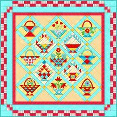 Sampler Quilts to Make | Star Sampler Quilt