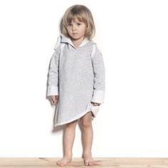 Sukienka z kapturem - Fir hoodie Kids http://bozzolo.pl/dziecko/sukienki-dresowe-dla-dziewczynek.html