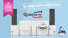 Qualica RD 5000 - la impresora de tarjetas definitiva
