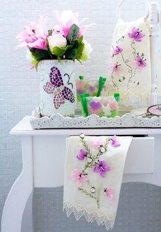 (1) - Вышивка лентами бабочки. МК | РУКОДЕЛИЕ