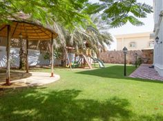 Garden of this 7 bedrooms Villa in Dubai